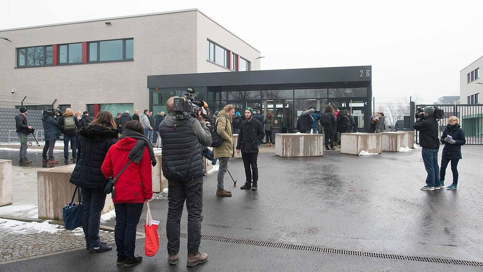Det var stor uppmärksamhet för rättegången i Dresden mot Freital-gruppen.