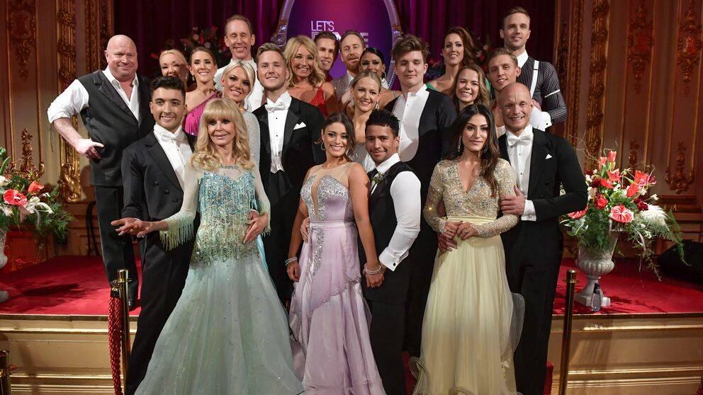 Samtliga deltagare i årets säsong av Let's Dance
