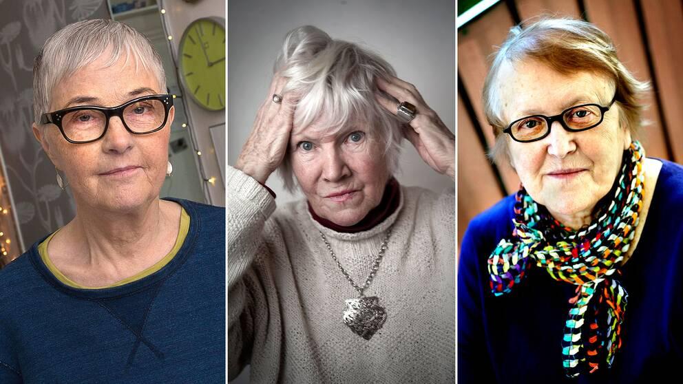 Bodil Malmsten, Birgitta Stenberg och Kerstin Thorvall är tre av författarna i en ny novellsamling som belyser feministiska pionjärer.