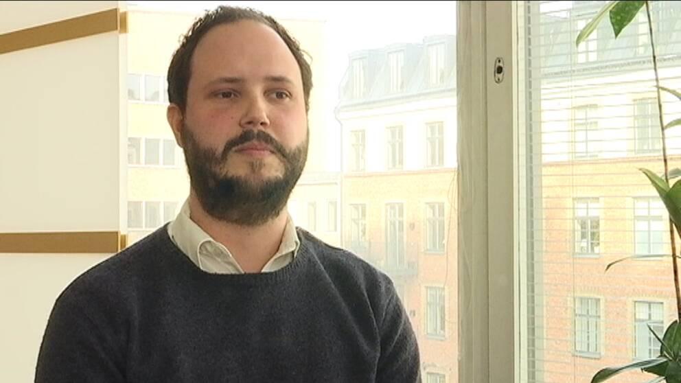 Jacob Hellström, bostadsstrateg på länsstyrelsen i Västra Götaland.