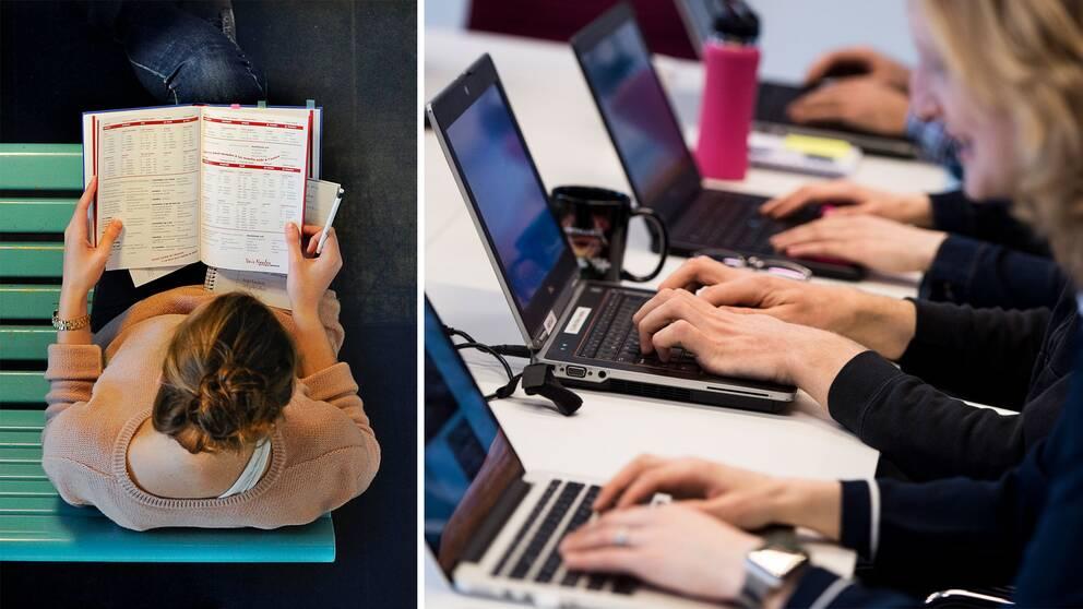Kvinnlig student, kvinnor som programmerar