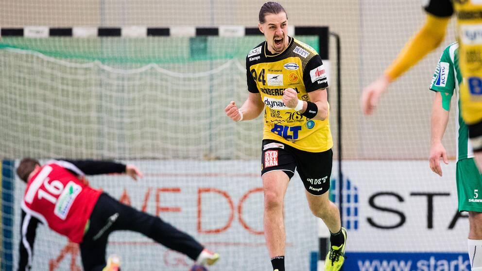 Tobias Nordahl ser fram emot matchen mot Aranäs.