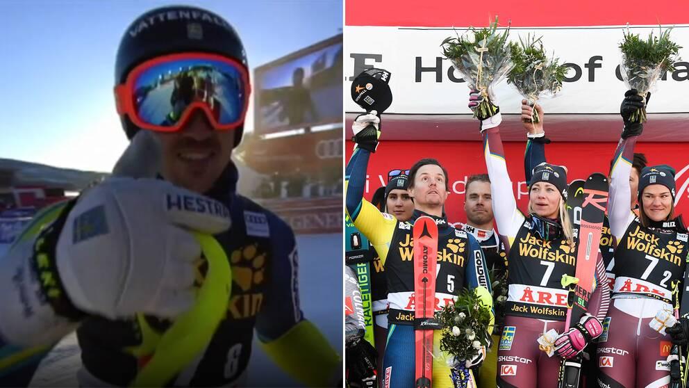Svensk seger i alpina lagtavlingen