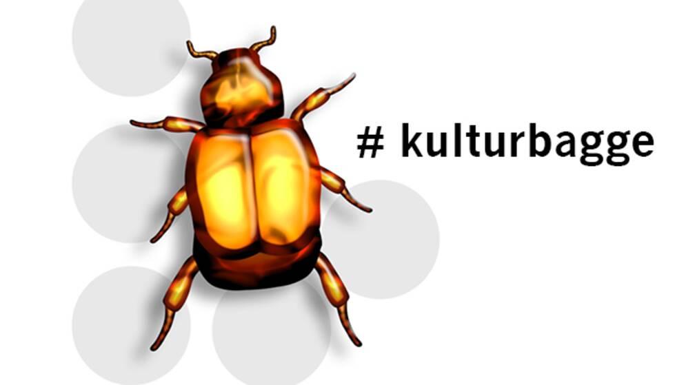 Kulturbagge. Foto: SVT Grafik