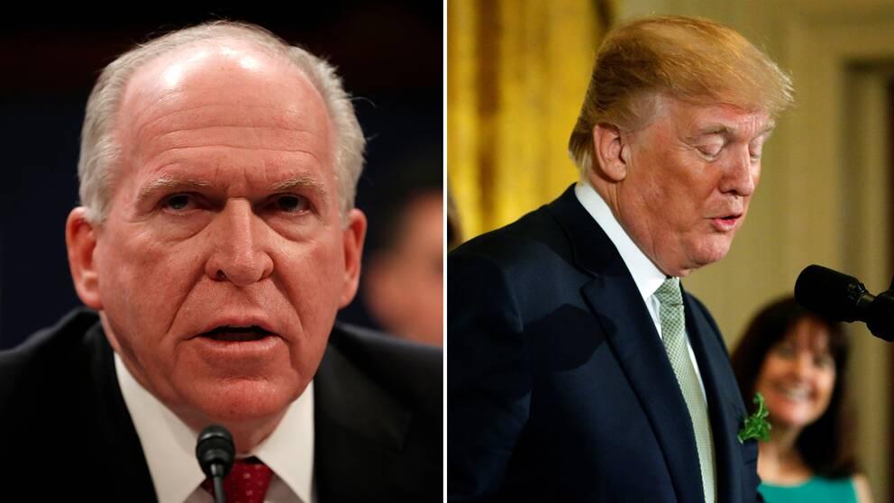 Fd CIA-chefen John Brennan skräder inte orden i sin kritik mot Donald Trump efter avskedandet av FBI:s vicechef Andrew McCabe.