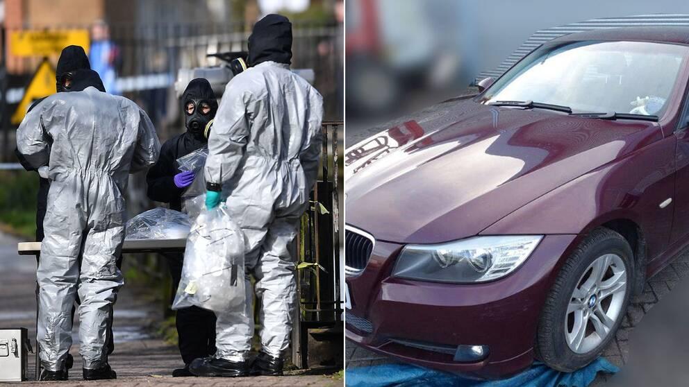 Den brittiska polismyndigheten Scottland Yard har släppt en övervakningsfilm av Skripals vinröda BMW och uppmanar allmänheten att höra av sig om de såg bilen den 4 mars.