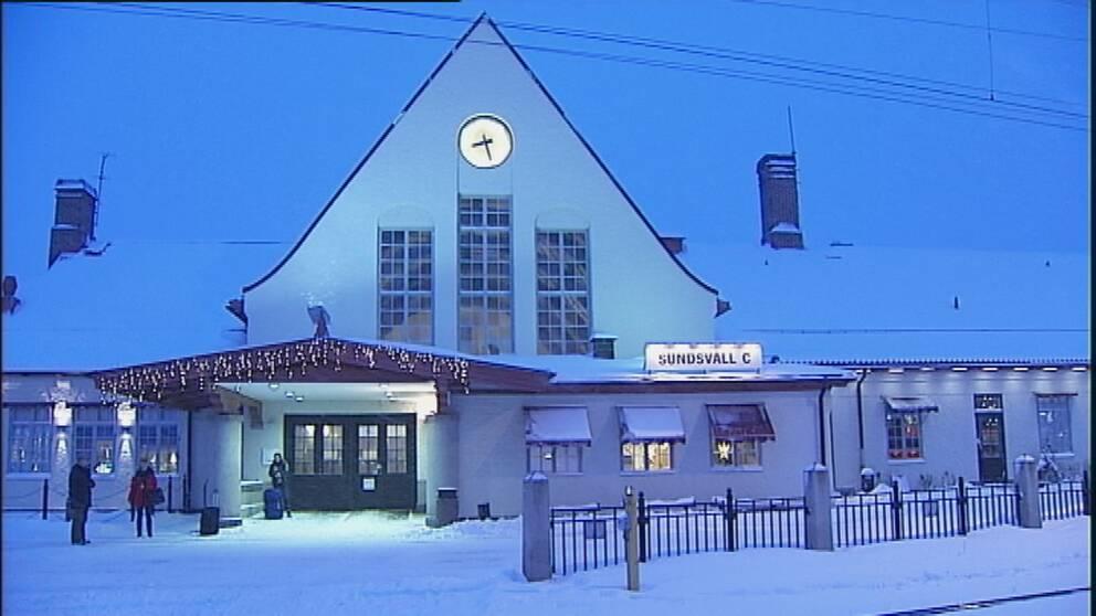 Karta Sundsvall Centralstation.Stokigt Och Otryggt Pa Sundsvalls Centralstation Svt Nyheter