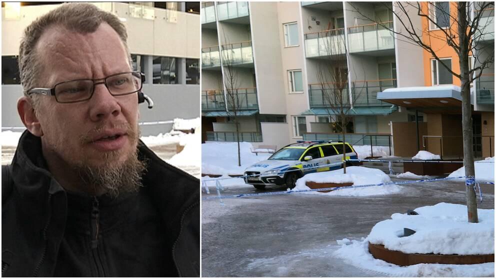 Mikael Hallenius, boende på nordost i Gävle.