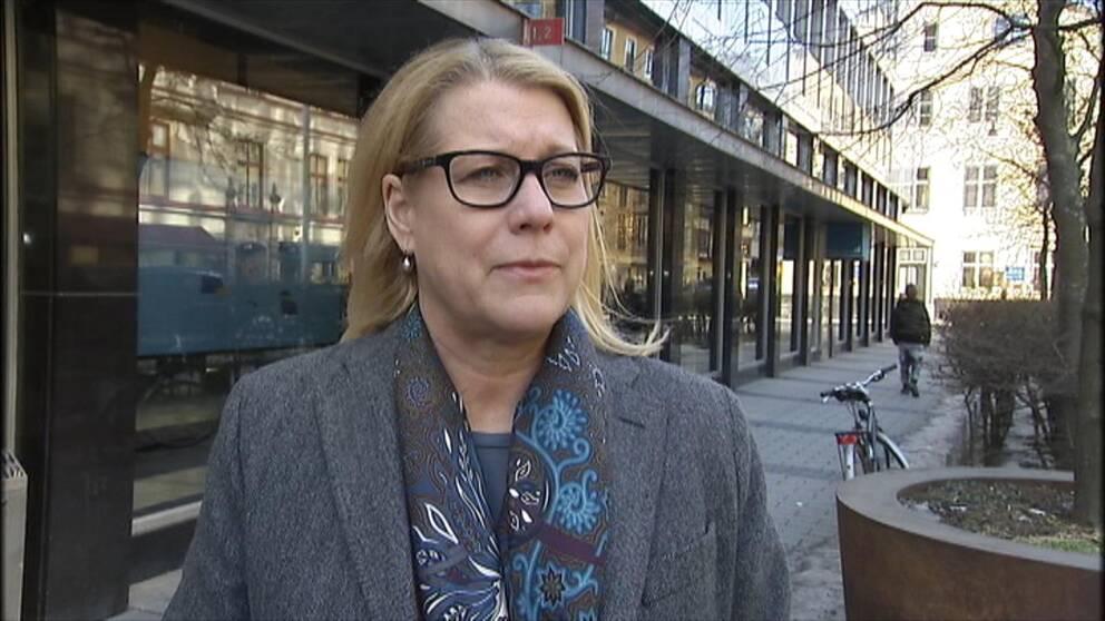 Catharina Elmsäter-Svärd, vd för Sveriges Byggindustrier.