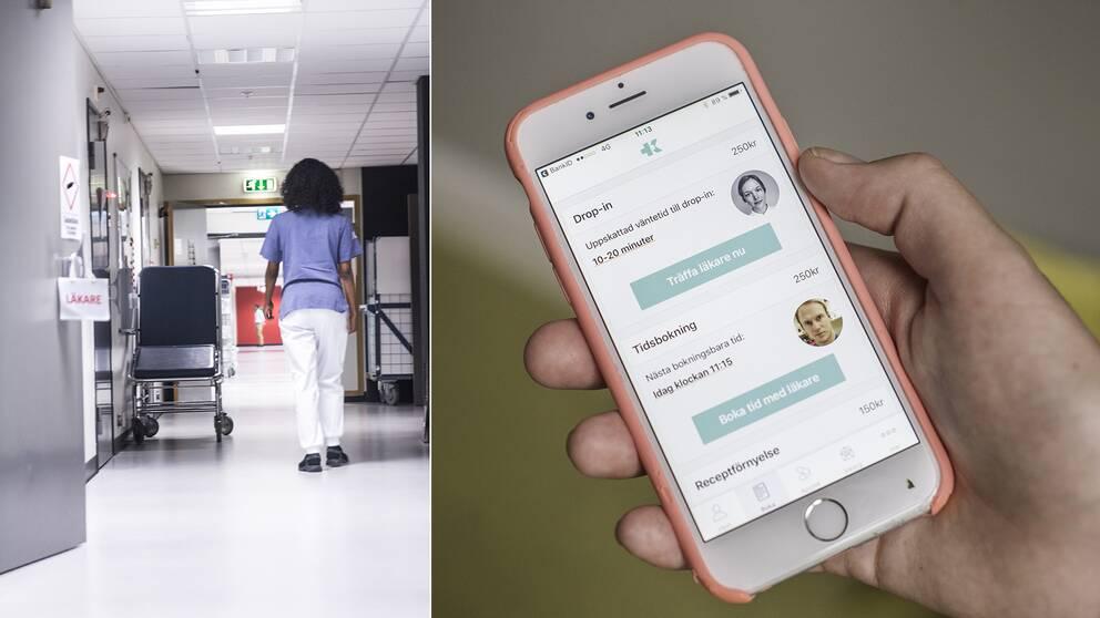 """Läkare kritiserar """"app-vård"""": """"De sjuka får mindre resurser"""""""