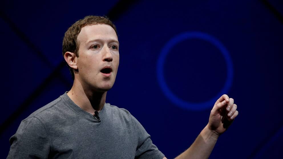 Mark Zuckerberg, vd på Facebook
