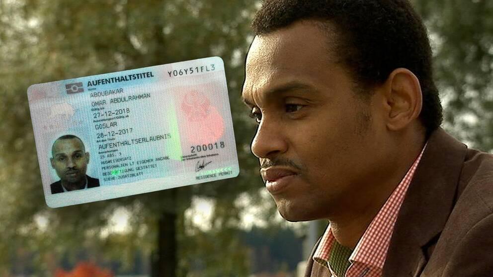 Omars uppehållstillstånd i Tyskland