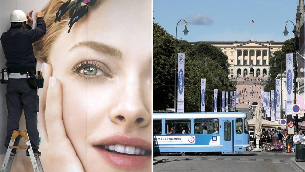 Retuscherade reklambilder är snart ett minne blott på Karl Johan och andra gator i Oslo.