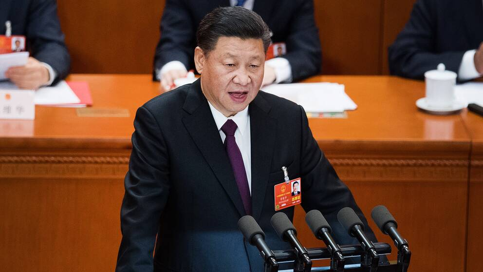 Kinas ledare Xi Jinping.