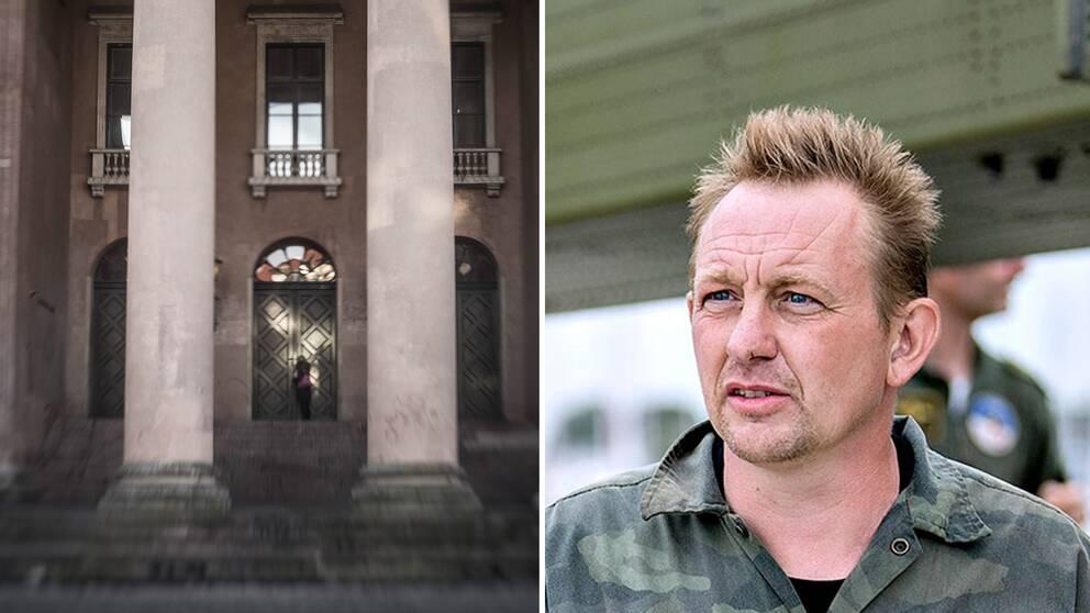 Rättegången mot Peter Madsen hölls i Köpenhamns tingsrätt.