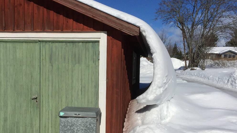 .Vi ser ljuset i snötunneln i Bingsjö Dalarna