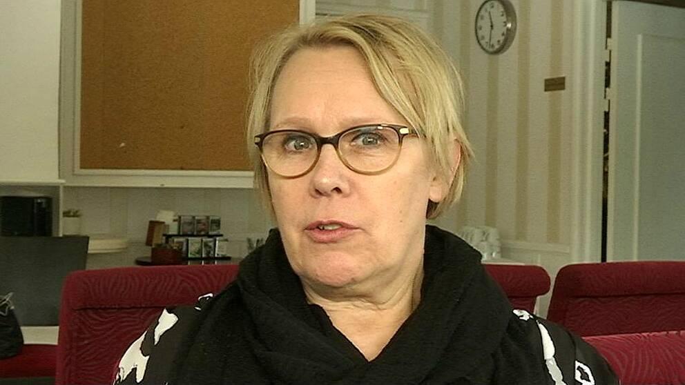 En bild på Maia Strufve, kurator på KAST-mottagningen i Göteborg