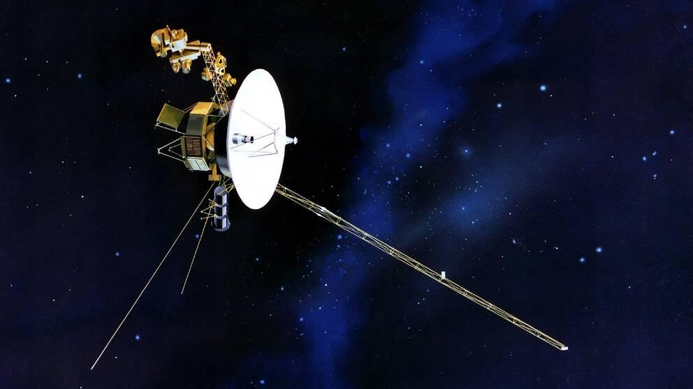 Rymdsonden Voyager 1.