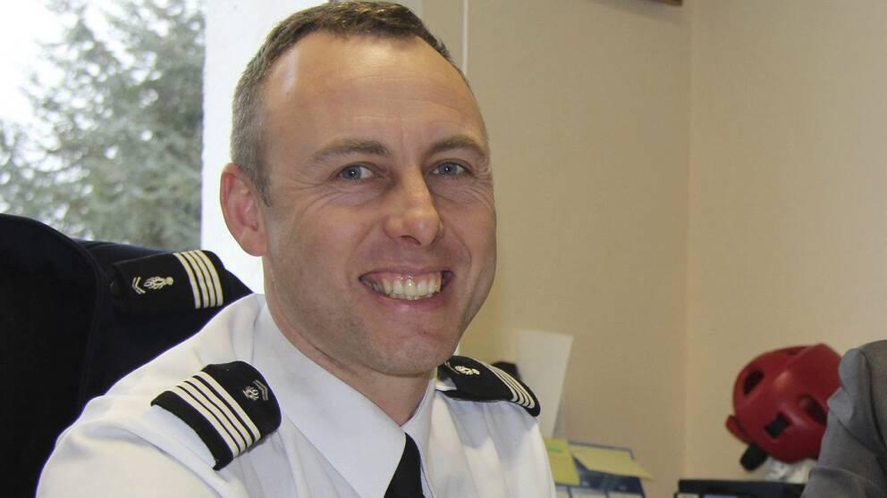 Polisen Arnaud Beltrame.
