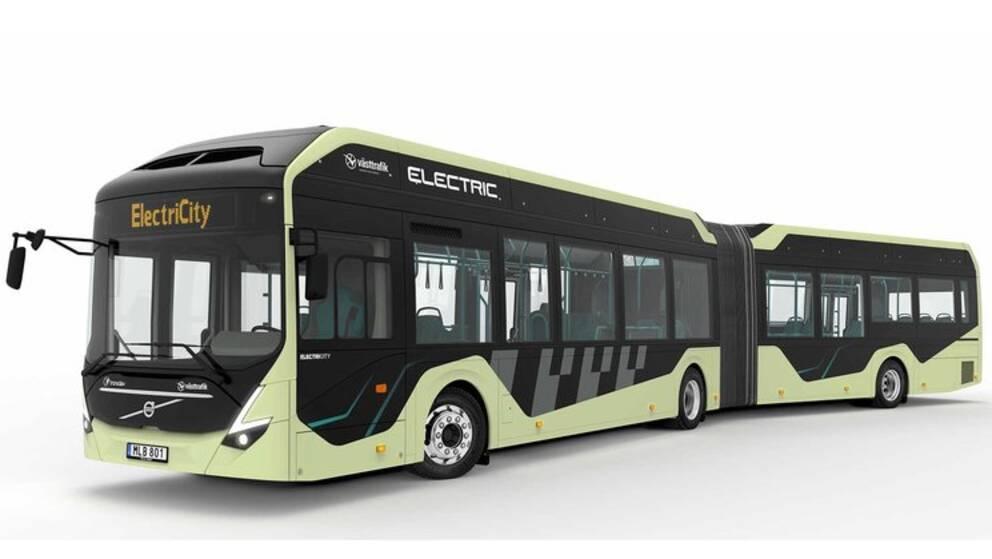 En eldriven buss från Volvo.
