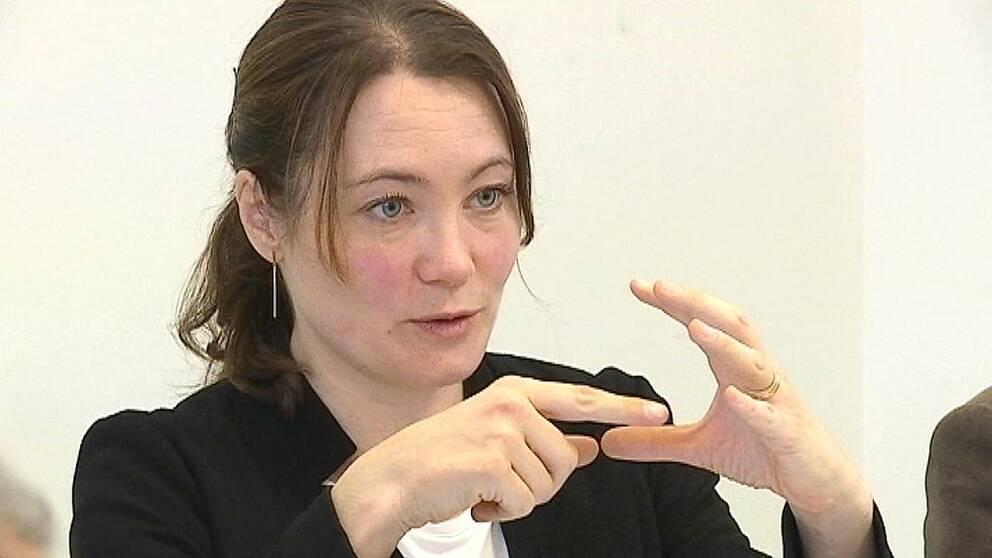 kommunalråd i Linköping Rebecka Hovenberg Miljöpartiet