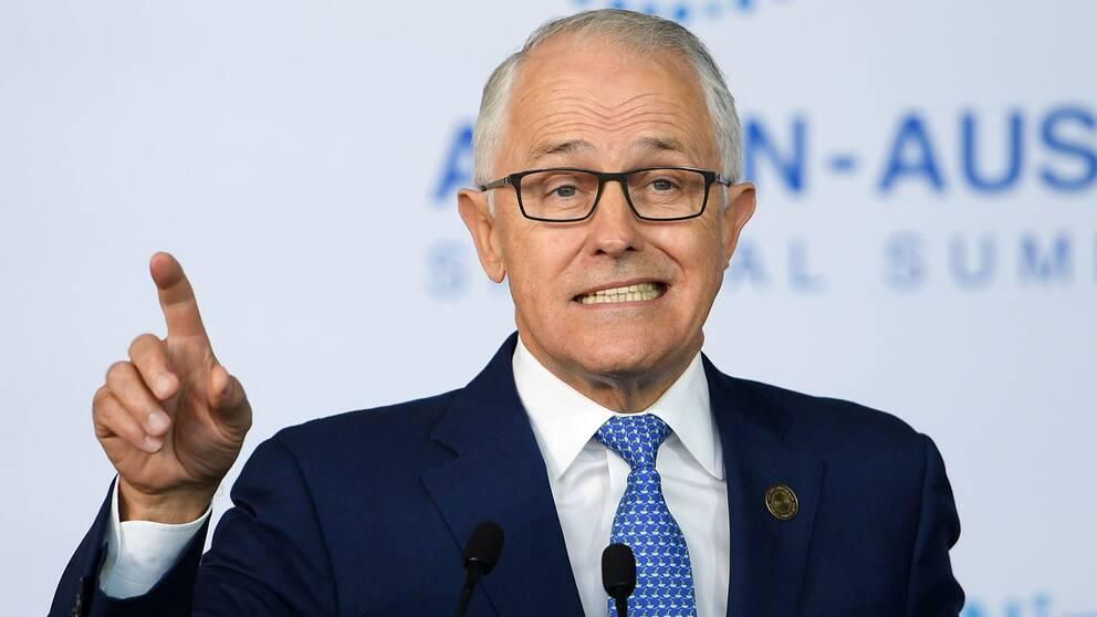 Australiens premiärminister Malcolm Turnbull