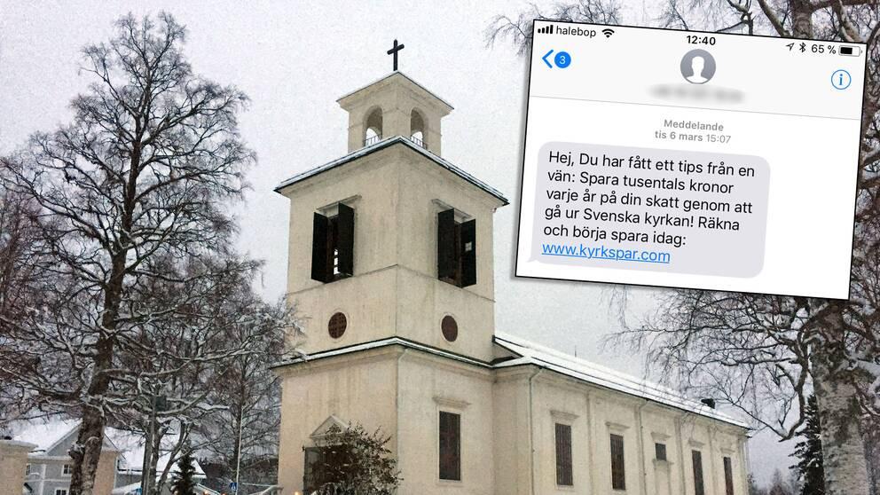 gå ur kyrkan