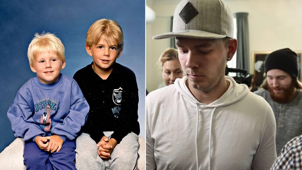 Bröderna som anklagades för mordet på Kevin för 20 år sedan.