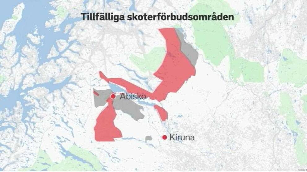 Karta Riksgransen Abisko.Det Ar Vart Ansvar Att Freda Renarna Svt Nyheter