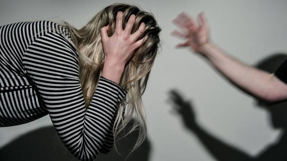 Misshandel kvinnomisshandel slag
