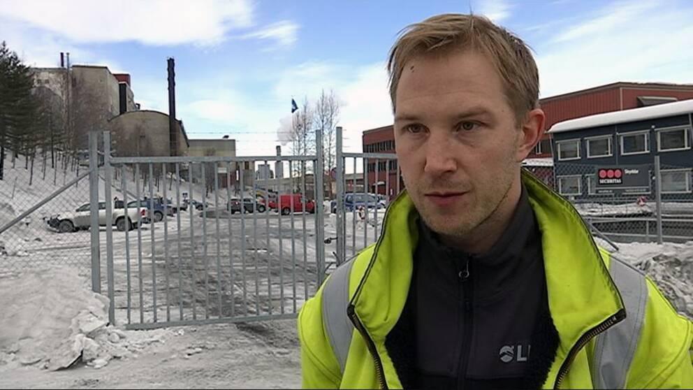 Gruvfyrans ordförande Tomas Larsson