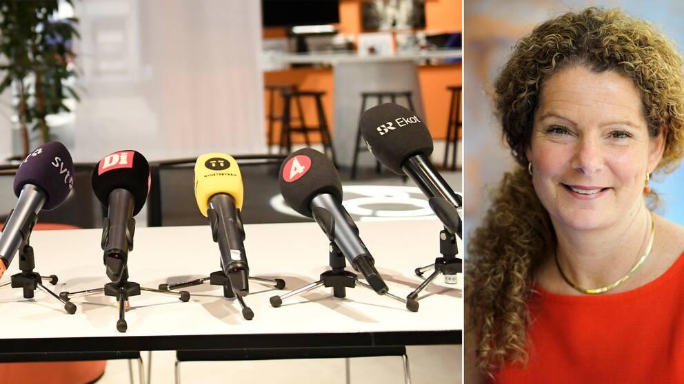 Sveriges Radios vd Cilla Benkö