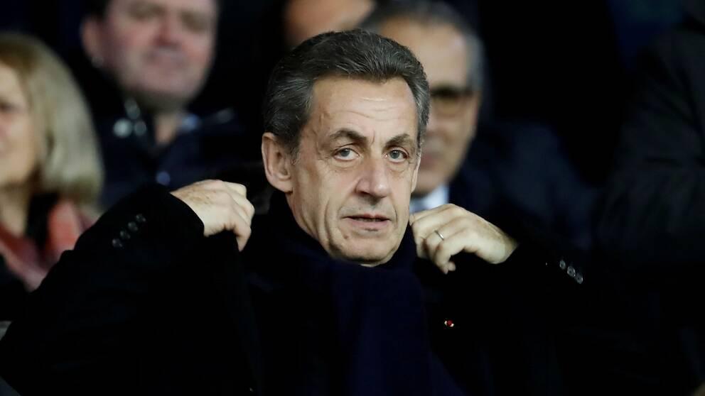 Frankrikes före detta president Nicolas Sarkozy, arkivbild.