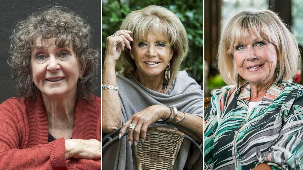 """Siw Malmkvis och Ann-Louise Hanson minns den folkkära artisten Barbro """"Lill-Babs"""" Svensson med värme."""