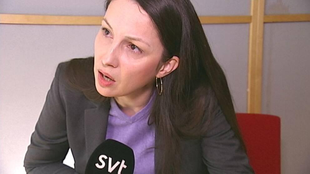 Sverigedemokraternas Ljubica Jasic Modin.