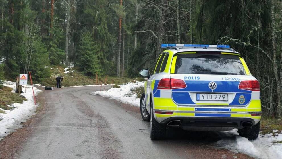 På Skutberget i Karlstad begicks ett grovt beväpnat rån på onsdagen.
