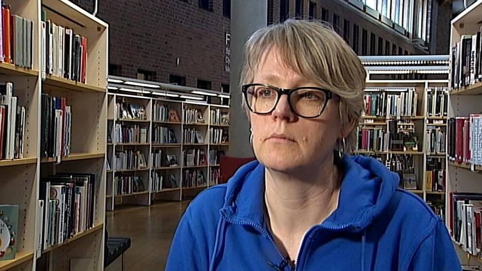 Lisa Ekman, utvecklingsledare på Regionbibliotek Östergötland