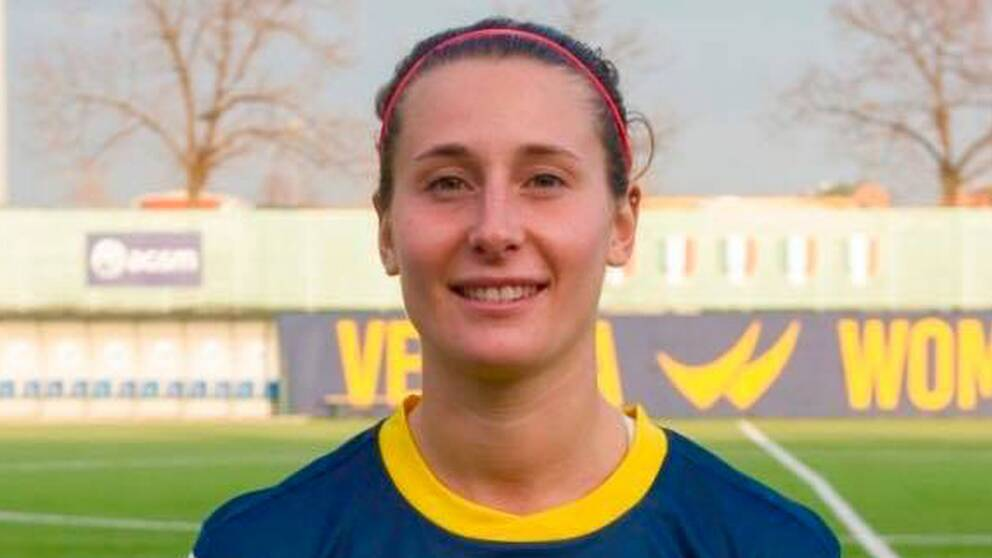 """Julia Molin  """"I Italien kan jag leva på fotbollen""""  847b8d0185fac"""