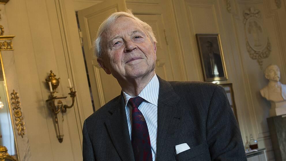 Akademiledamoten Sture Allén.