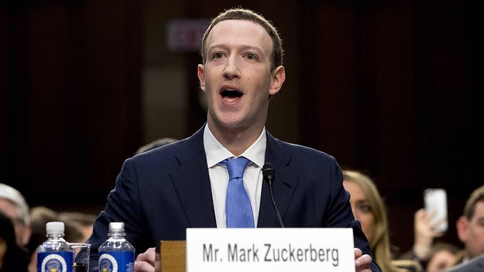 Facebooks vd frågades ut av senaten