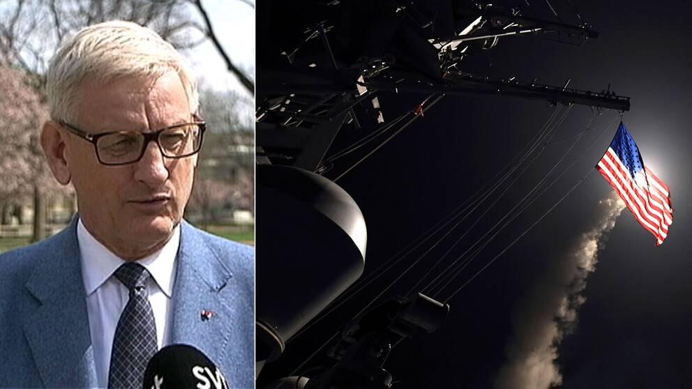 Carl Bildt: Attacken mot Syrien kommer