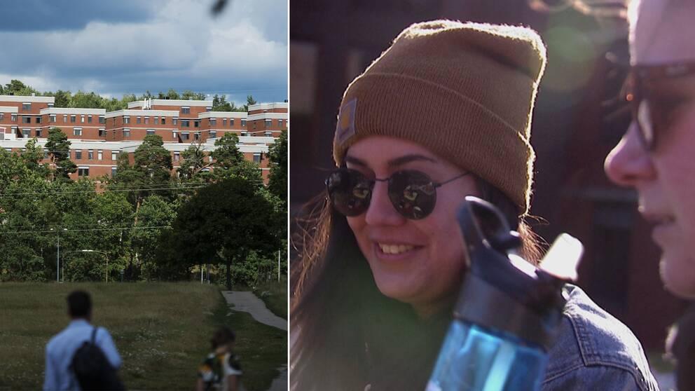 Studentbostäder i Stockholm och Cecilia Thand.