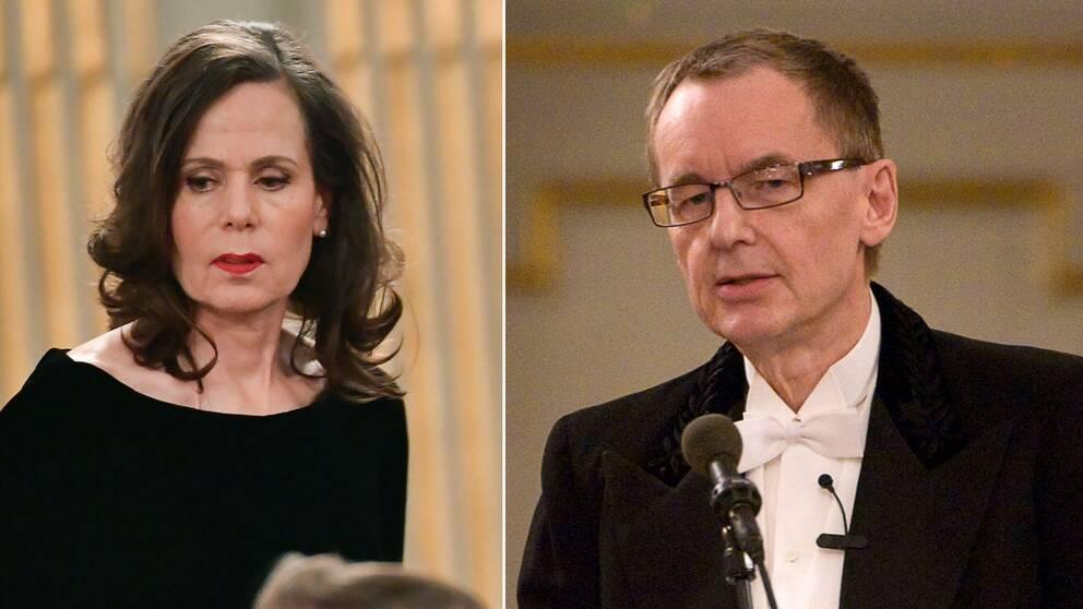 Sara Danius och Anders Olsson