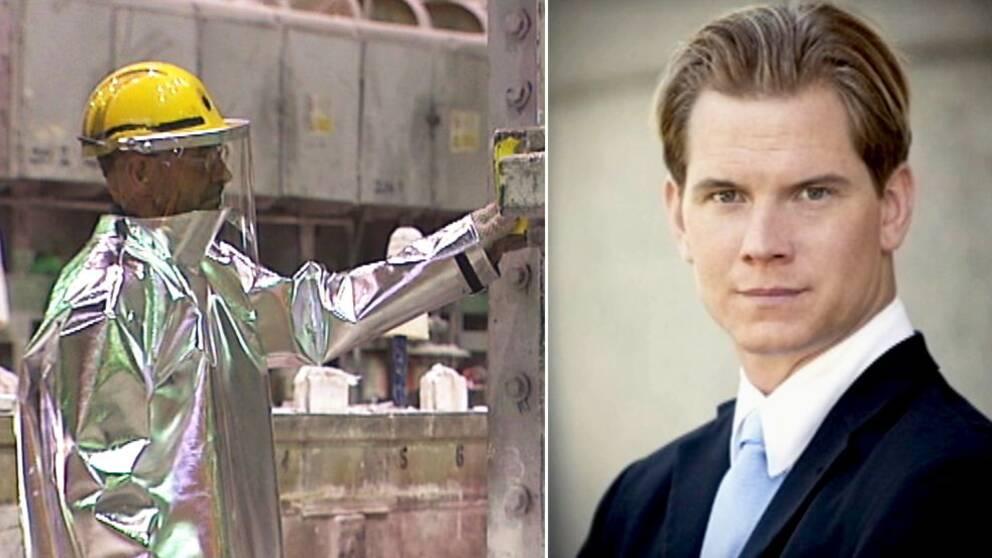 Martin Jonsson, till höger.