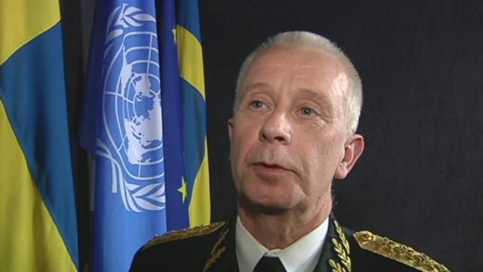 Sverker Göransson, Sveriges ÖB.