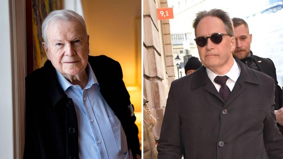 Avhoppade ledamoten Kjell Espmark menar att Horace Engdahl måste lämna sin stol för att lugna konflikten inom Svenska Akademien.
