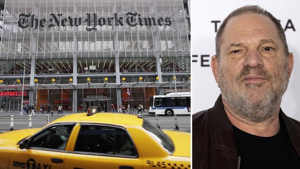 Den anrika amerikanska dagstidningen The New York Times vinner två Pulitzerpriser 2018, bland annat för rapporteringen om anklagelserna om sexuella övergrepp av Hollywood-mogulen Harvey Weinstein.