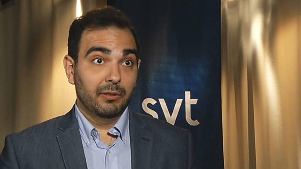 Arman Teimouri (L) riksdagskandidat Karlstad