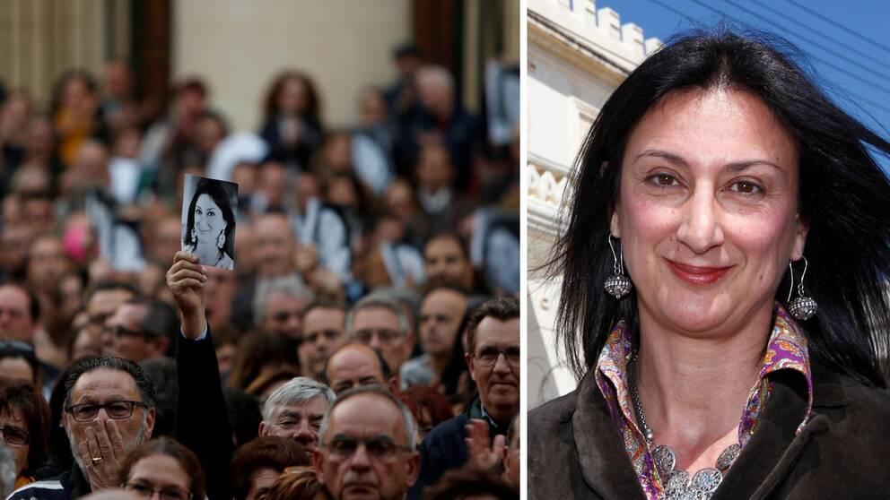 Den maltesiska journalisten Daphne Caruana Galizia prisas av Publicistklubben postumt.