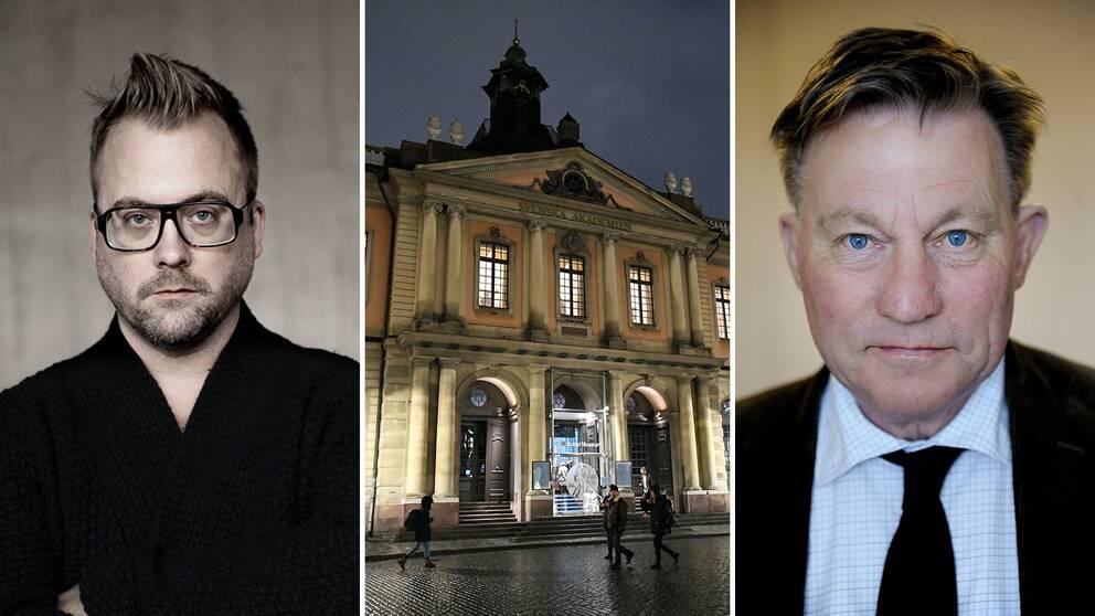 Mårten Schultz och Claes Borgström vill att advokatutredningen om Svenska Akademien offentliggörs.